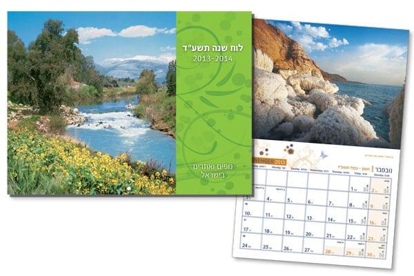 לוח נופים בישראל – סיכות