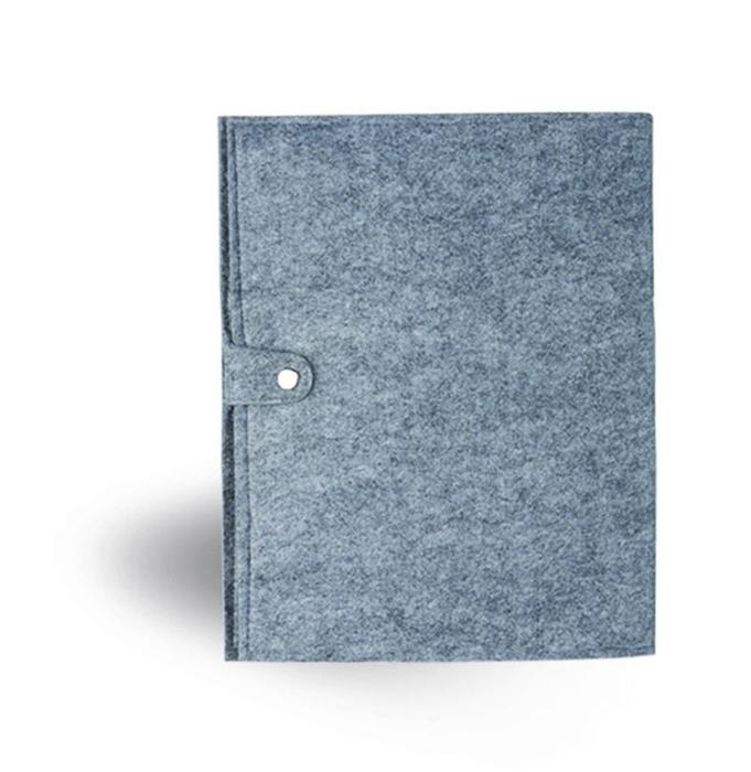מכתבייה A4 מכריכת בד קנבס ממוחזר עם עט ממוחזר וסגר